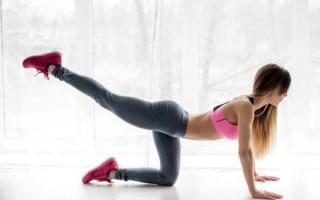 Обзор эффективных упражнений от целлюлита на ногах и попе