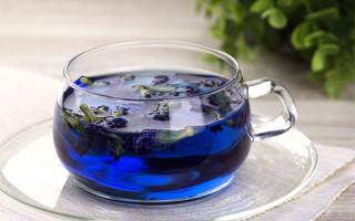 Обзор китайских и тайских синих чаев для похудения