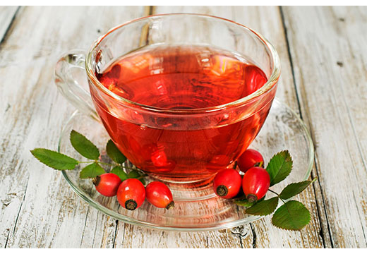 Чай с шиповником