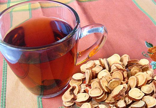 Чай с корня солодки