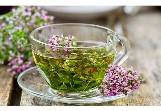 чай с травой чабрец