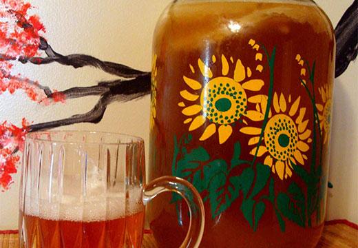 напиток с грибом
