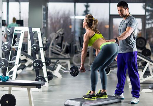 упражнения с тренером