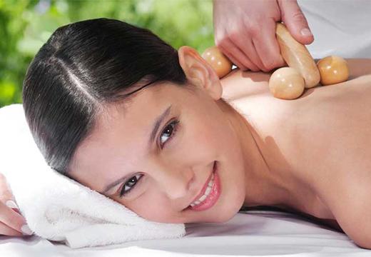 точечный массаж спины