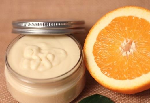 домашний крем с апельсином