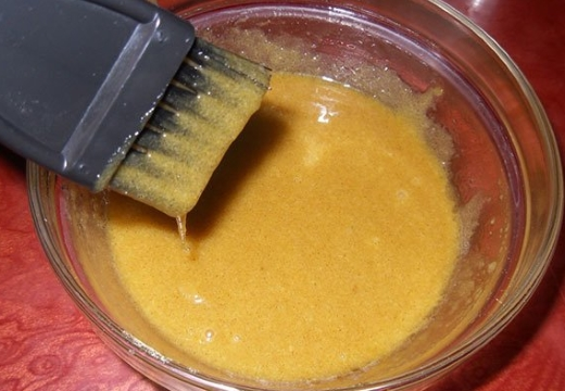 смесь из горчичного порошка