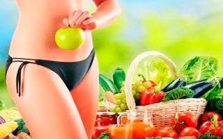 Легкая диета для быстрого похудения живота и боков