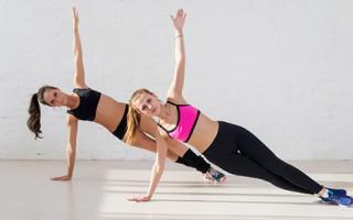 Упражнение йоги для живота и пресса