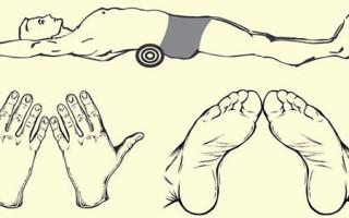 Японский метод избавления от живота с помощью полотенца