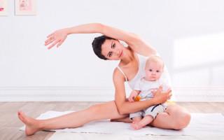 Как быстро избавиться от живота и боков в домашних условиях кормящей матери
