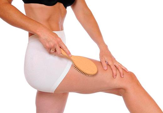 массаж сухой кожи