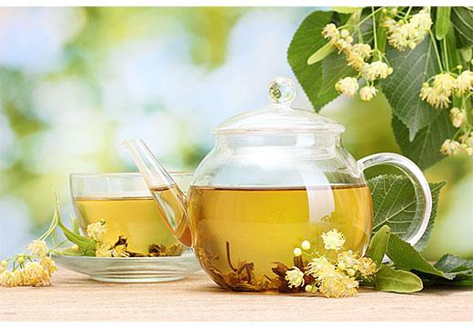 Чай з омелы и липы