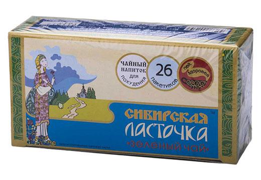 зеленый чай Сибирская ласточка