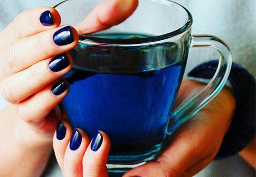 Синяя жидкость