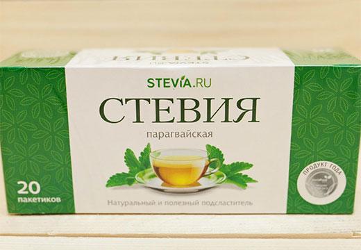 чай стевия