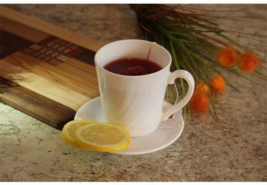 красный чай с лимоном