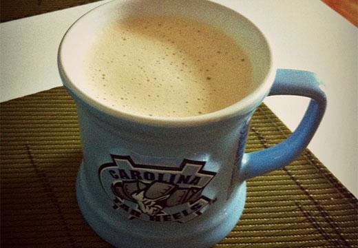 Кофе с пенкой с масла