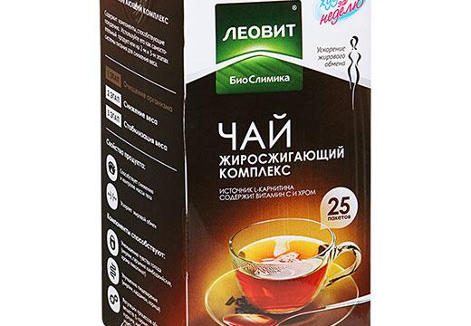 чай Леовит для похудения