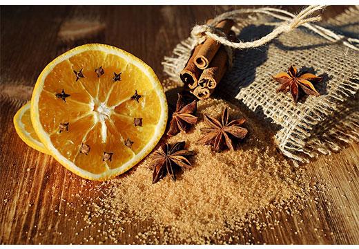 лимон с корицей