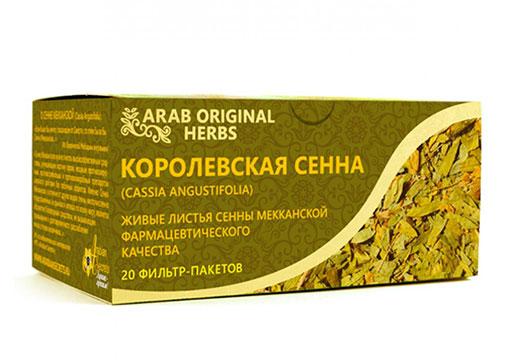 пакетики сушенной сенны