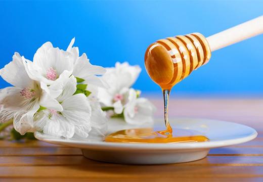 мед в блюдце