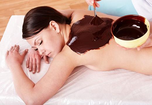 нанесение шоколада
