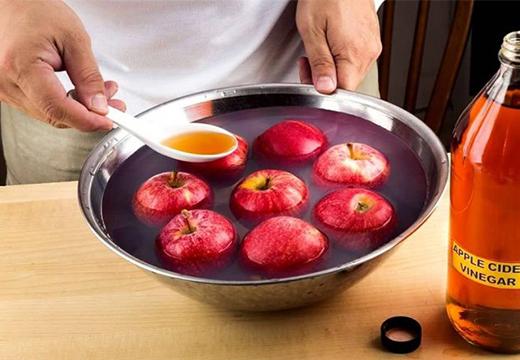 яблоки в уксусе
