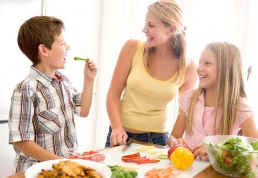 здоровое питание детей