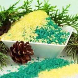 соль и пихтовые ветки