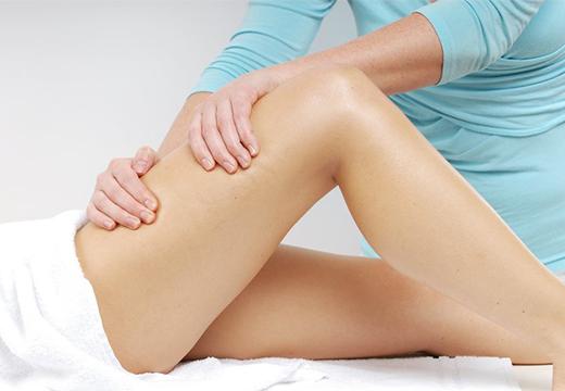 массаж ног от целлюлита