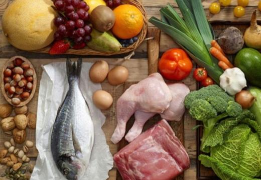 овощи фрукты мясо рыба