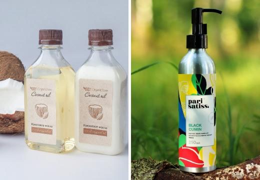 кокосовое и тминное масла