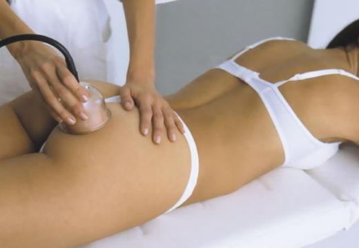 вакуумный антицеллюлитный массаж