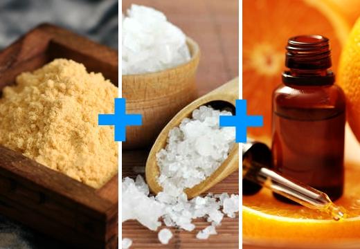 горчица соль аромомасло