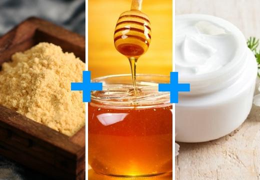 горчица мед крем