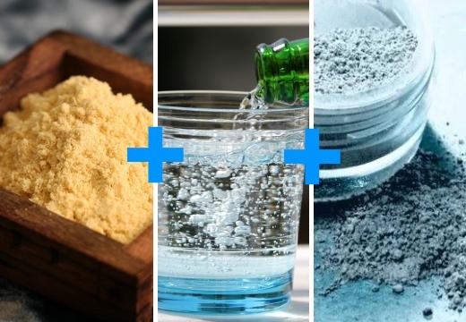горчица минеральная вода глина