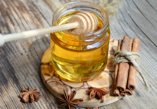 мед корица