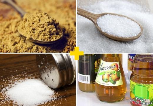 сахарно-горчичная смесь состав