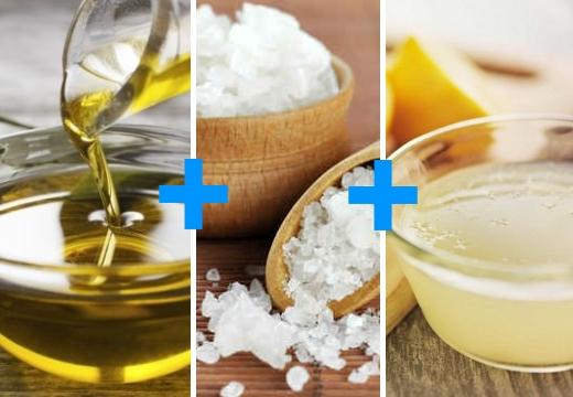 оливковое масло морская соль лимон