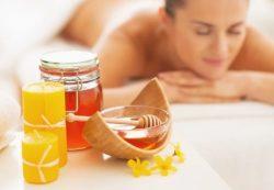 массаж мед свечи