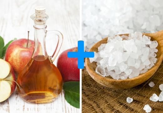 уксус морская соль