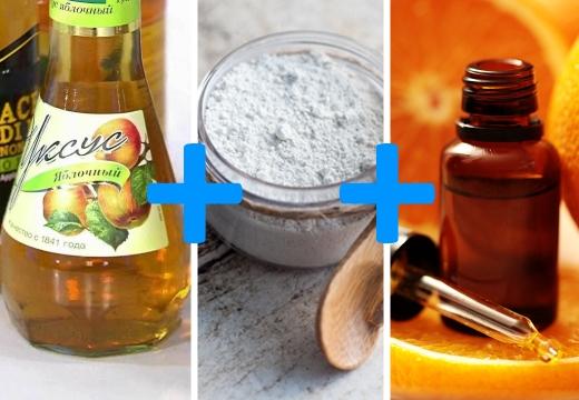 уксус глина эфирное масло