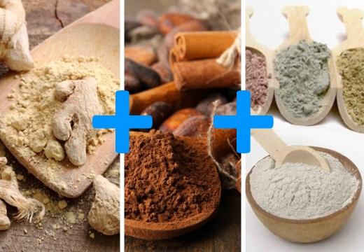 имбирь корица глина