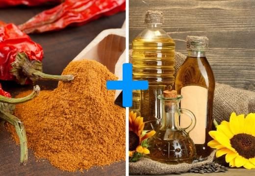 красный перец масло