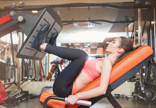 упражнения на ноги в зале
