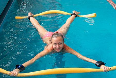водные упражнения для похудения