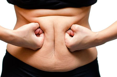 жирный живот у женщины